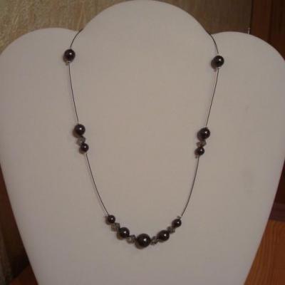 Collier noir anthracite
