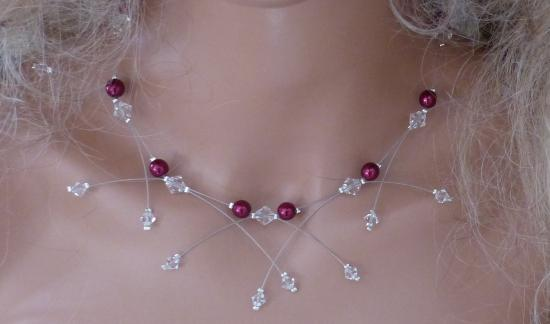 Collier mariage pas cher