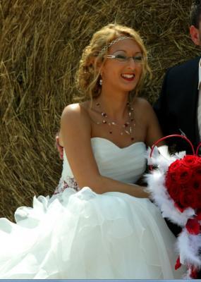 Notre mariée Sarah