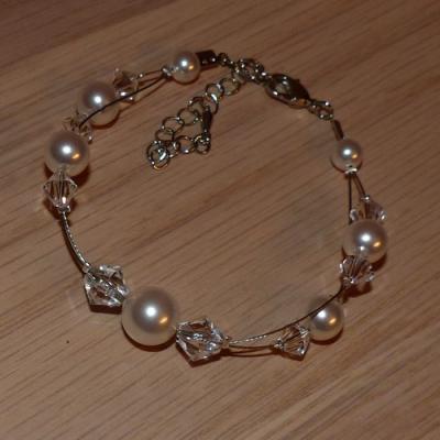 Bracelet ivoire cristal