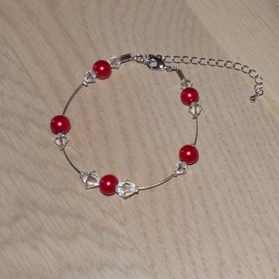 Bracelet rouge mariage