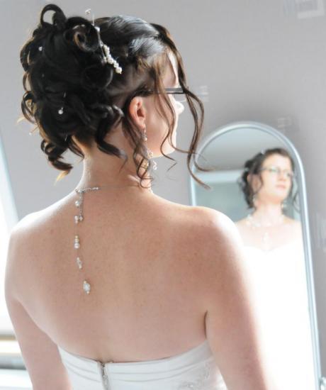 collier mariage bijou de dos ivoire