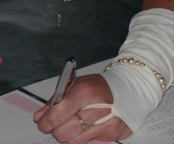bracelet mariage ivoire