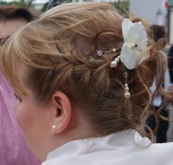 Bijou cheveux, accessoire mariage